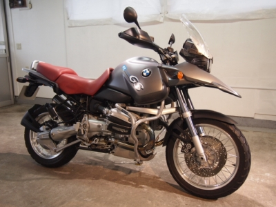 BMW R1150GS CR−1バイクコーティング施工