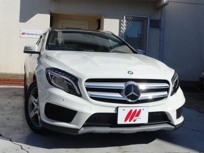 メルセデスベンツ GLA250 4MATIC Sports AMG leather Exclusive package