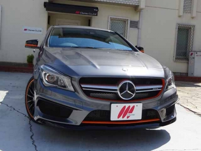 メルセデスベンツ CLA 250 Shooting Brake OrangeArt Edition 45AMG Ver