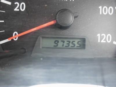 走行距離97355キロです。