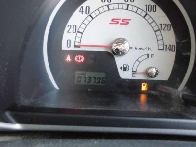 走行距離7.4万キロ!まだまだ現役のSSです