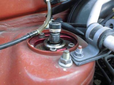 減衰力ピロアッパー調整式車高調装備