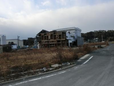 鮎川港 とても無残な状態です!