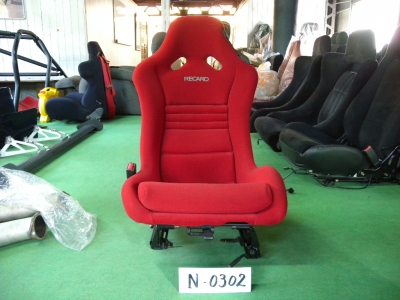 スピリットRタイプA RECAROバケットシート 助手席 N-0302