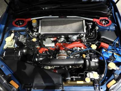 HKS車高調 HKSマフラ- RAYs鍛造18インチAW HDDナビ ETC HID Defi追加メ-タ-ブ-スト計 水温計 Bカメラ 地デジTV HIDフォグ ドラレコ STiタワ-バ- 取説、記録簿あり