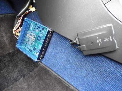車高調エアクリマフラ-Fコンis前置IC Defi4連メ-タ-強化クラ社外ラジエタブーストUP仕様の鷹の目GDB!
