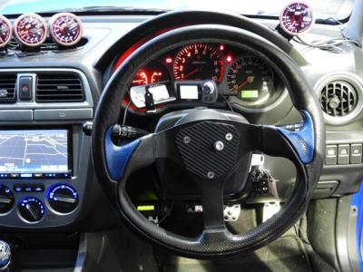 社外エキマニ エアクリ 車高調 マフラ- 社外ラジエタ- SDナビ HID ETC スポ触走りパーツ満載のGDBインプ!!改造多数!!
