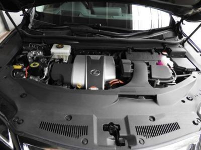 エンジンルームはコンパクトで見やすいので手入れも簡単です。