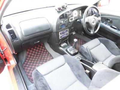 RAYs18インチアルミ ブレンボキャリパー スリットローター 車高調 エアクリ マフラー 社外ラジエター 社外スタビライザー Defit追加メーター 水温油温ブースト計 HKS EVC