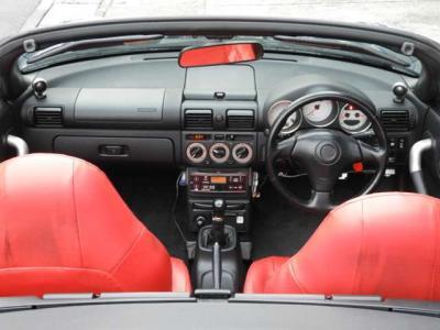 純正フルエアロ 希少国産車のMR オープンカー!LEDヘッドランプ 社外スピーカー タイミングチェーン式のため交換不要