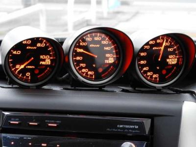 HKS車高調 Defiメ-タ-水温油温油圧 チタンマフラ- HDDナビ ETC レカロ×2脚タイミングベルト交換済 ないる屋WRCコンセプトウイング ドレスアップ済ライトチューンのGRB!!
