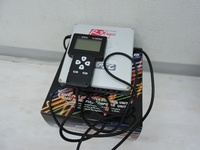 RX-7  5型   アペックスパワーFC Rマジックデーター入り