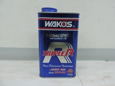 WAKOS     レーシングエンジンオイル  15-50