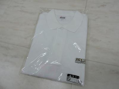 GARAGE-R    オリジナルポロシャツ Lサイズ(165〜175)