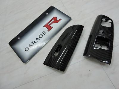RXー8 SE3P リアルカーボン  ドアスイッチパネル