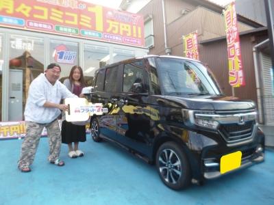 千葉県 K.O様ご納車おめでとうございます。 素敵なカーライフをお送りください。