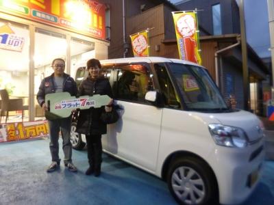千葉県 Y様 ご納車おめでとうございます。