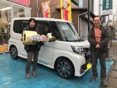千葉県 A様 ご納車おめでとうございます! 素敵なカーライフをお送り下さい!