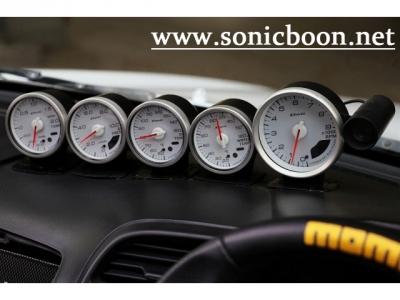 DEFI 5連メーター(タコ、水温、油温、油圧、ブースト)
