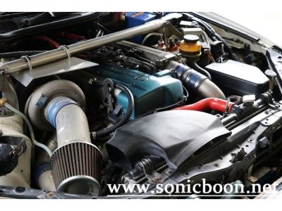 オイルクーラー、インタークーラー、ATFクーラー等冷却系も強化されております。