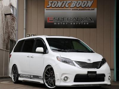 USトヨタ シエナSE用フロントリップ&サイドフラップ