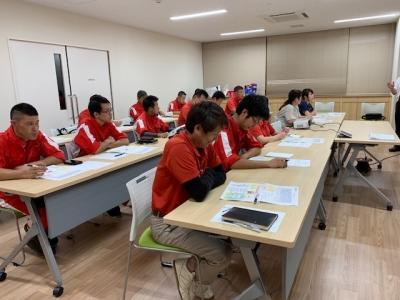 車検業務基礎・接客・マナー研修 R1年8月28日撮影