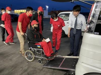 スズキの研修 福祉車両・セニアカー R3.4月