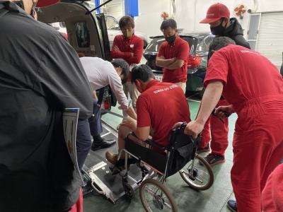 福祉車両・セニアカー研修 R3.4月