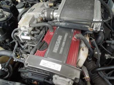 エンジンはしっかりしています。ターボもしっかり加速しています。RB20ってこんなに力あった?そんな感じです。