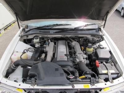 メーカーカタログ引用トヨタの名機1JZ−GTEターボエンジン、280PSの快速な走り5速MT入庫!!
