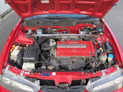 メーカーカタログ引用B18C出力200ps(147kW)/8000rpm 最大トルク19.0kg・m(186.3N・m)/6200rpm 種類水冷直列4気筒DOHC16バルブ 総排気量1797cc!!