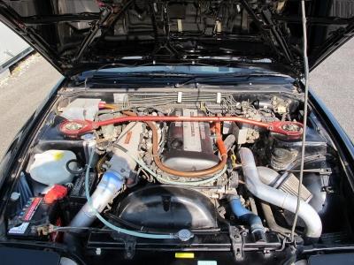 HKS、GT−RSタービン、HKSエキマニ、インジェクター850cc,ナプレック加工80πスロットル、カム、トラストサージタンク、トラストインタークーラー、コーヨー3層ラジエターなどなど