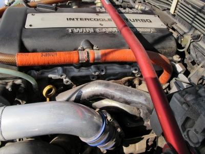 HKSVプロにてセットアップされた180SX!!納車点検時に油種類やブレーキ、水廻り、ホース、ベルト類をチェック交換してのお渡しになりますので、ぜひぜひあなたもチューニングの世界へ!!