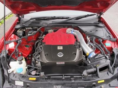 エンジン仕様書も完備!!メーカーカタログ引用出力300PS/6.400rpmトルク37kg・m/4.400rpmニスモS1コンバージョンキット装着のカタログです。