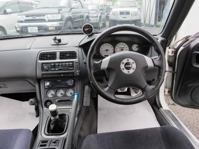 後期型S14K,sを純正5速MTで楽しんでくださいデフィーブーストメーター装着済み