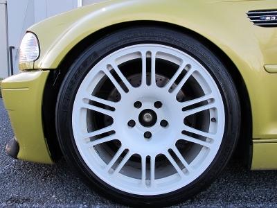デザインの良い3Ddesign鍛造18AW装着済み!!見た目もレーシーなお車ですが、走りもレーシーです。ぜひご検討ください。