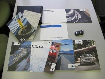 取説、新車保証書、記録簿、スペアキー、BMWパフォーマンスブレーキキャリパー前後、メンテナンス21.23.24.25.26.27.28年度完備!!