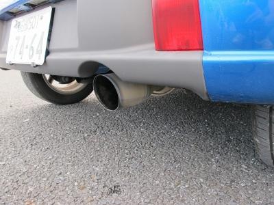 快音マフラー装着済み!!車検対応モデルになりますので、ご安心ください。