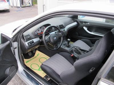 E46M3,6速MTが入庫しました!!運転席・助手席はレカロセミバケットシート装着、減衰調整付車高調、社外マフラー装着車!!ぜひお早目にご検討ください。