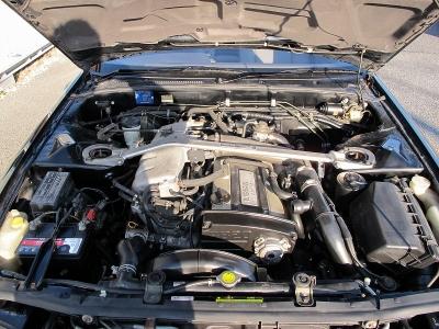 インパルコンプリートカー入庫しましたRB20DETエンジン、シリアルNo166号車です。専用エアロパーツやステアリング、フロアマット、マフラー、アルミホイールは当時のままです!!