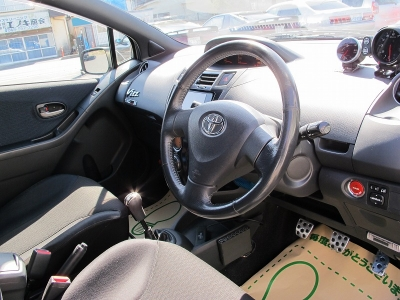 運転の楽しいTRDターボMが入庫しました。TRDクイックシフト装着で小気味の良いシフトチェンジが出来て楽しい車です。