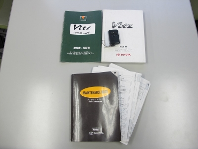 取説、新車保証書、モデリスタTRDターボM証明書、スペアキー完備しています。