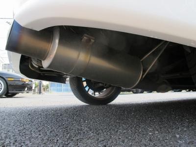 ナビフルセグTV 追加メーターブリットフルバケマフラー車高調18AW安心のタイミングベルト交換ステッカーはエンジンルーム内にございます。運転の楽しい4G63ターボエンジンを楽しんでください。