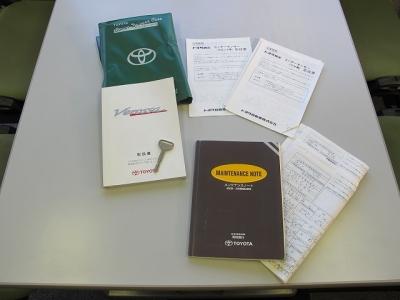 取説、新車保証書、スペアキー1本、メンテナンス記録16.18.20.22.24.26.28.30年度保管有り、納車前点検にて油種類の交換を行いご納車させて頂きます。