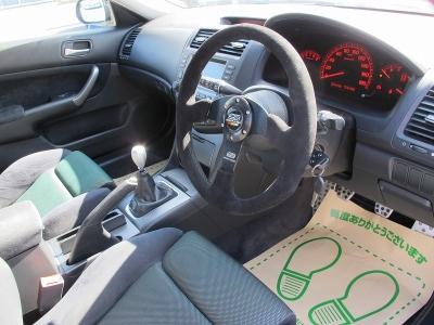 運転席、助手席は純正レカロシートがユーロRは装着になり運転しやすいホールド感でドライブもより一層楽しめると思います。後期型アコードユーロRお早目にご検討ください。