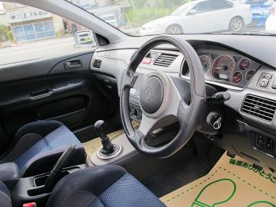 ランエボVII、修復歴がないお車が入庫しました。あなた好みに仕上げてください。