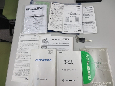 取説、新車保証証、メンテナンスノート、スペアキー1け、16.17.21.23.25.29.R1年度メンテナンス記録あり