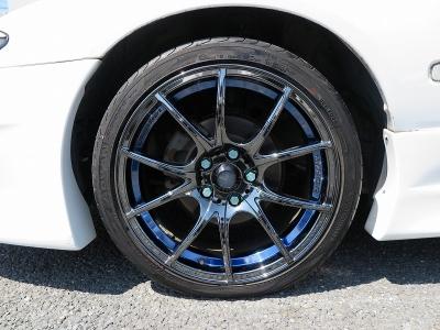 純正5速MT ナビ地デジTV ETCキセノンライトGPスポーツエアロGPスポーツマフラーTEIN車高調WedsSA10R18AW