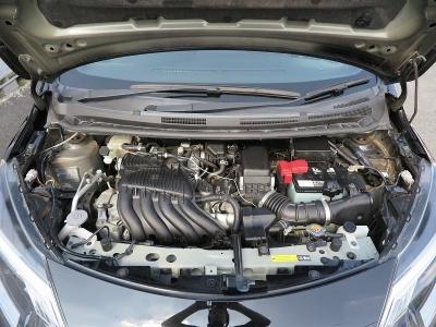 メーカーカタログ引用エンジン型式HR16DE 出力140p(103kW)/6400rpm     トルク16.6kg・m(163N・m)/4800rpm   種類水冷直列4気筒DOHC 1597cc