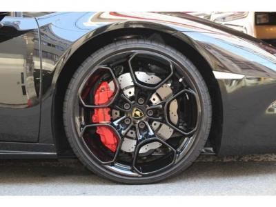 Giano20インチブラックペイントAW/レッドブレーキキャリパー